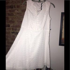 Not just a plain white dress